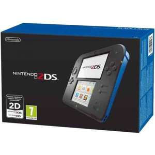 Nintendo 2DS black/blue reduced to £60 at ASDA Fraserburgh