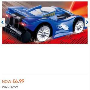 wall climbing car at b&m reduced from £12.99 Now £6.99