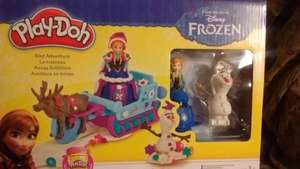"*Now scanning £3.75* Frozen ""Sled Adventure"" Play-doh £4.74 Tesco INSTORE"