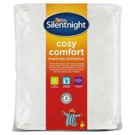 Silentnight Cosy Comfort Mattress Protector Single,Double and Kingsize half price @ Tesco online and instore- £5