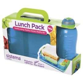 Sistema Snack Attack & Water Bottle Duo half price £5 @ tescodirect