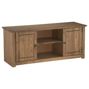 Santiago 2 Door 1 Shelf Flat Screen TV Unit at Worldstores £63.99