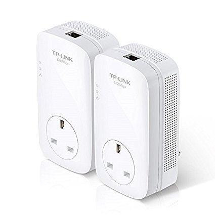TP-Link TL-PA7020P KIT AV1000 2-Port Gigabit Pass Through Powerline Adapter Starter Kit £44.99 @ Amazon