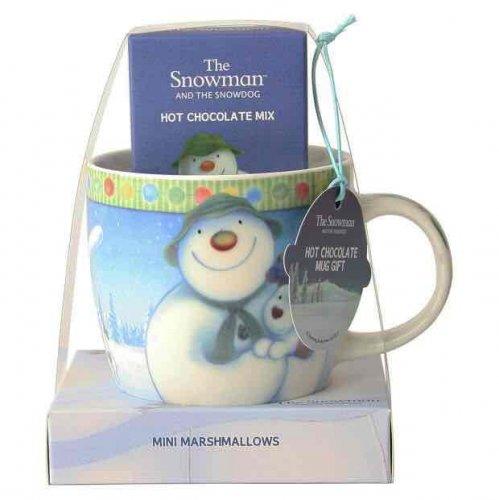 Snowman Hot Chocolate Mug Gift Set @ Argos £3.49