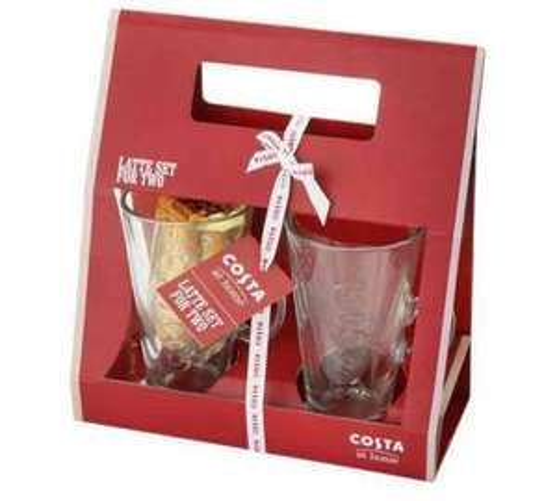 Costa coffee Latte Gift Set @ Argos £5.99