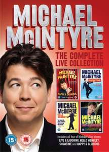 DVD Michael McIntyre: The Complete Live Collection Box Set £7 @ Asda + More