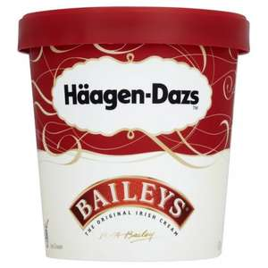 Haagen-Dazs Baileys Ice Cream & other flavours 500ml £2 @ Morrisons