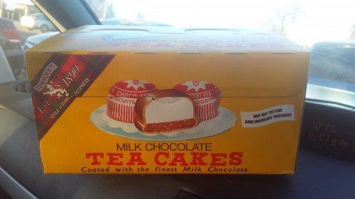 Sainsburys - Box Of 36 Tunnock's Teacakes - £3.00