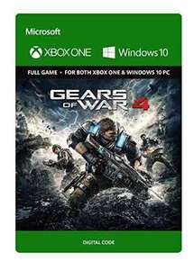 Gears of War 4 (Xbox One & Windows 10) digital download £24.99 Standard Ed.) £54.99 (Ultimate Ed.) @ Amazon