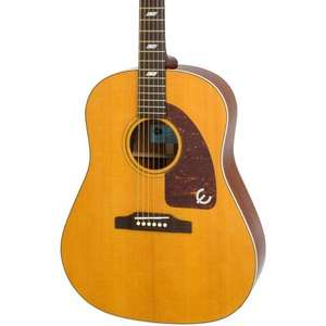 """Epiphone EETXANNH1 Inspired by """"1964"""" Texan Electro-Acoustic Guitar Antique Natural £245.61 @ Amazon"""