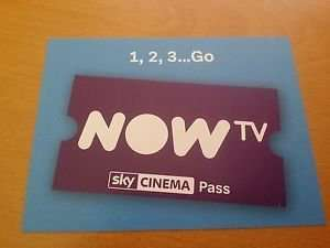 Now TV Sky Cinema 1 month Pass 99p ebay /  arun_stewart