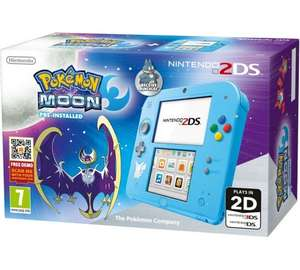 Nintendo 2DS With Pokemon Moon £99.99 @ Argos