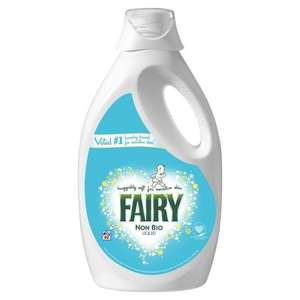 Fairy Non-Bio Washing Liquid 60 Washes ONLY £5.00 (8p a wash!), Head & Shoulders 500ml ONLY £2.62 +more @ Amazon Pantry (Prime exclusive)