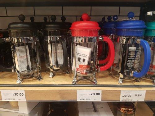 BODUM 8 CUP COFFEE PRESS £12.34 TESCO