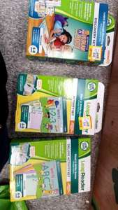 Leapfrog leapreader activity and discovery books reduced over half price £6.49 @ Smyths Toys