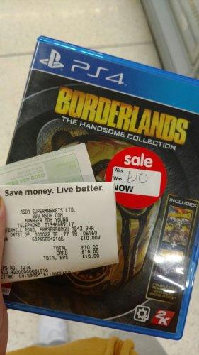 Borderlands: The Handsome Collection [PS4] £10 @ Asda - Fraserburgh