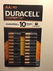 Duracell AA 40 Pack £12 (inc VAT) - Costco