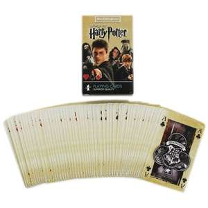 Harry Potter Playing Cards Pack - now £2.40 with code + possible 13.2% cashback @ TheWorks (Free C&C)