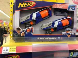 Nerf N-Strike Elite (Twin Pack) Reduced to Clear £6.50 @ Tesco instore