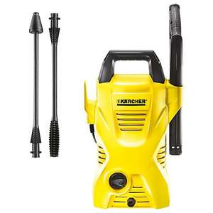 Kärcher K2 Compact Pressure Washer £48+ delivery (£50 inc) at John Lewis