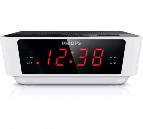 Philips AJ3115/05 Digital FM Alarm Clock Radio - White £7.99 @ Argos