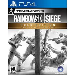 Rainbow Six Siege Gold Edition PS4 @Simplygames - £22.85