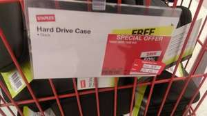 "Portable 2.5"" Hard Drive Case at Staples for £2 - instore only"