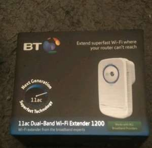 extend super fast wi fi 11ac dual band wi fi extender 1200 £29.99 @ Curry's