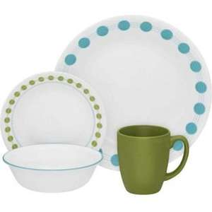 Some Corelle 16 Piece Dinner Set Designs (Geometric, Memphis, Folk Stitch, South Beach, Country Cottage) £31.99 + Free Delivery @ Argos