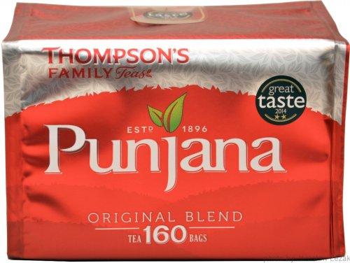 Thompson's PUNJANA Tea Bags, 160 for £3 @ Tesco