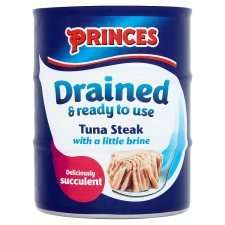 Princes Drained Tuna Steak In Brine 3 Pack 120G half price £2.00 from tomorrow @ tesco