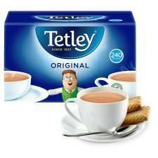 Tetley Original Teabags (750g = 240) was £5.80 now half price £2.90 @ Tesco