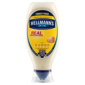 Hellmann's Real Squeezy Mayonnaise 750ml £2 was £4 @ Morrisons