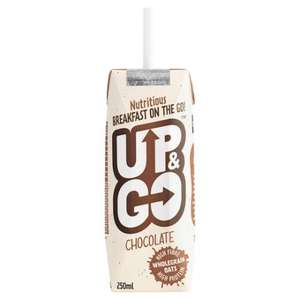 Free Up&Go Breakfast drink - Checkout Smart - Tesco, Asda, Sainsbury's, Co-Op, WH Smiths