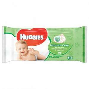 Huggies wipes 50p @ poundland both aloe vera and pure