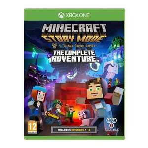 Minecraft Story Mode: The Complete Adventure (Ep 1-8) - Xbox One/PS4 - Tesco Direct