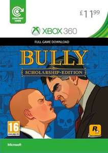 Bully Scholarship Edition (360 Edition) Xbox One @ Game Download for £11.99