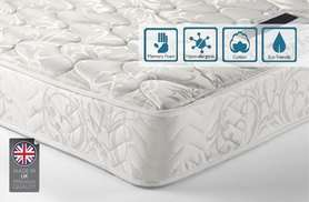 Sleep Easy Hypoallergenic Memory Foam Sprung Mattress Kingsize £79.89 @ Wowcher