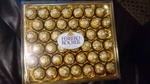 Box of 42 Ferrero Rocher half price - £5 on store at Tesco