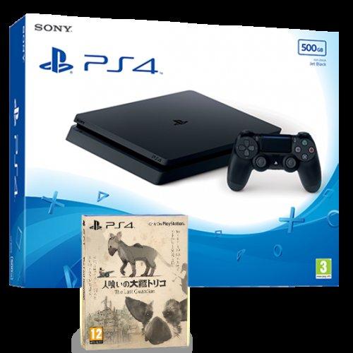 PS4 Slim 500GB (Black) + The Last Guardian 'Exclusive Launch Edition' - £199.85 - ShopTo
