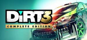 DiRT 3: Complete Edition inc DLC on Amazon UK (redeems on Steam) - £2.29