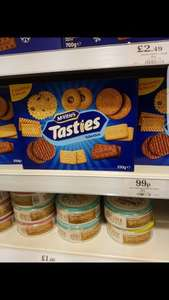 Mcvitie's Tasties Biscuits Variety Pack For 99p At Home Bargains In Burnley