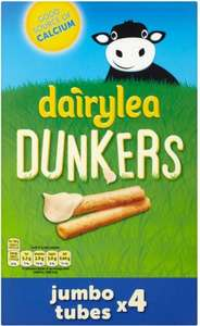 Dairylea Dunkers Jumbo Tubes (4 x 47g) was £2.25 now £1.00 @ Asda
