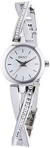 DKNY (DNKY5) Women's Quartz Watch with Silver Dial Analogue Display and Silver Stainless Steel Bracelet NY2173 @ Amazon