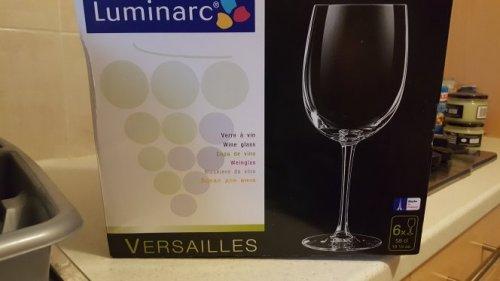 6 x Luminarc wine glasses 58cl £1.50 @ Morrisons