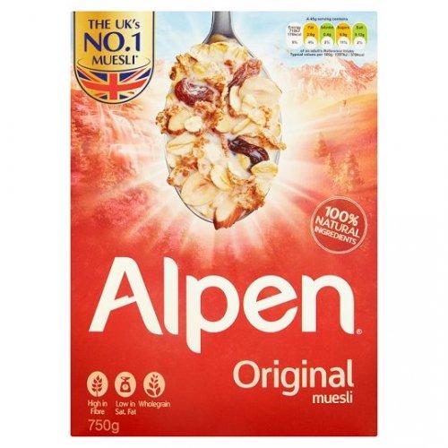 Alpen (box) Original & NAS £1.39 @ Tesco - Starts 4\1