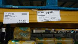 Pampers New Baby Size 2 - 544 nappies @ Costco