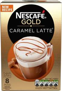 Nescafe Cafe Menu Latte Irish Cream 8 per pack was £4.00 now £1.50 @ Morrisons