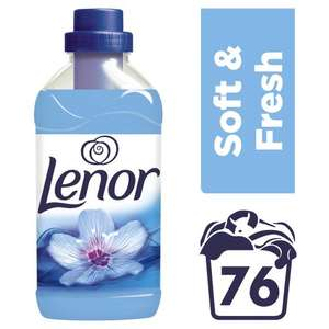 Lenor Spring Awakening Fabric Conditioner (76 washes = 1.9litres) was £5.00 now £2.50 @ Waitrose