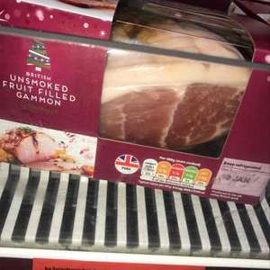 Christmas Ham reduced from £10 to 50p in online :-)